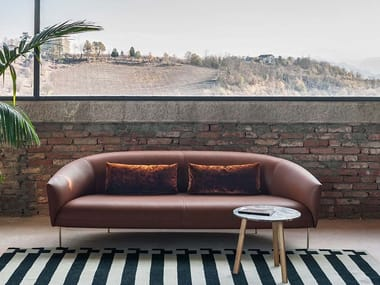 Leather sofa ROMA | Leather sofa