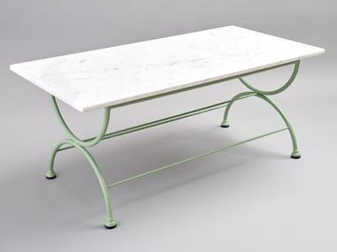Table basse de jardin rectangulaire ROMBI   Table basse rectangulaire