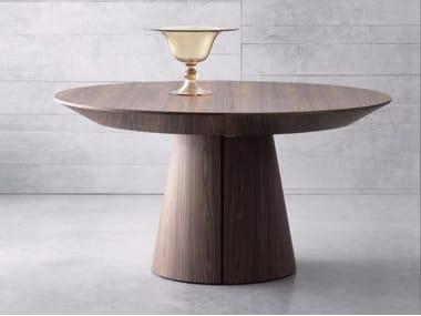 Tavolo allungabile rotondo in legno RONDÒ