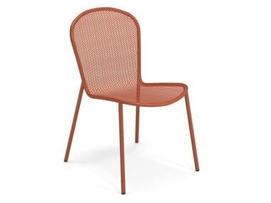 Chaise de jardin en acier RONDA XS | Chaise