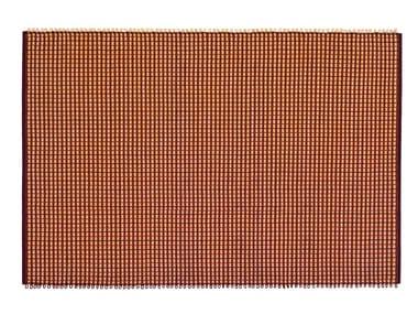 Handmade rectangular cotton rug ROPE