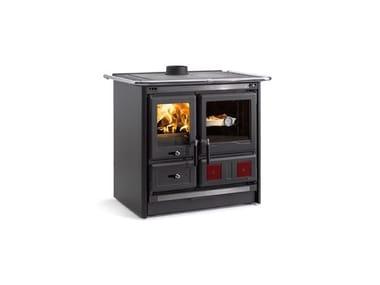 Cucina a legna con forno di grandi dimensioni ROSA L