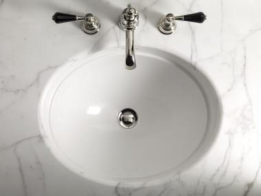 Vasque sous plan ovale ROSE | Vasque sous plan