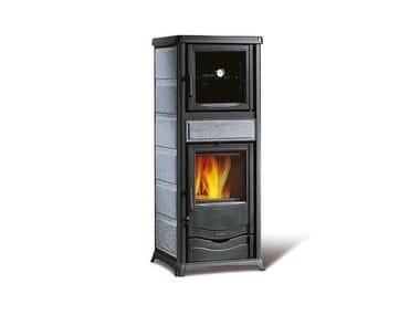 Stufa a legna con forno per cucinare ROSSELLA PLUS FORNO EVO
