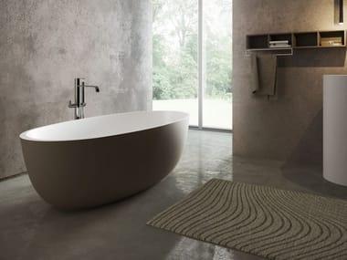 Freestanding oval bathtub ROUND