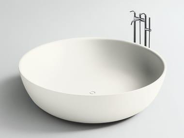 Bañera independiente redonda de Corian® ROUND FISCHER
