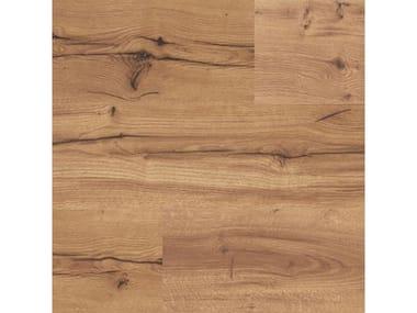 Pavimento laminato effetto legno FACILE + ROVERE UMBRO