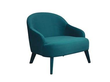 Fabric armchair with armrests ROYAL | Armchair
