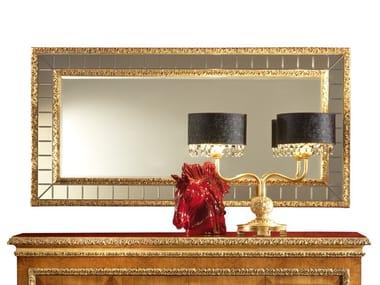 Rectangular wall-mounted mirror ROYAL | Rectangular mirror