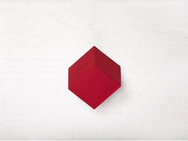 Fabric hanging acoustical panel RP CUBE
