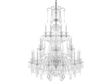 Direct light handmade Lead Crystal chandelier RUDOLF HISTORIC DESIGN
