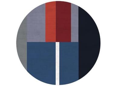 Round wool rug RUE DU REGARD