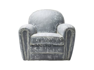 Synthetic material armchair RUFUS