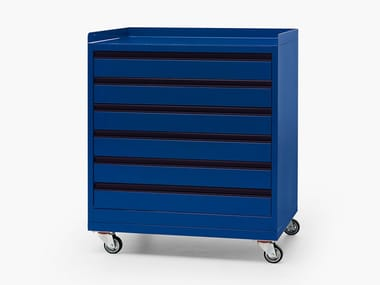 Metal drawer cabinet RUN DRAWER UNIT
