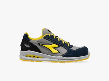 Scarpe antinfortunistiche da lavoro basse RUN NET AIRBOX LOW S1P SRC BLU COSMOS/MOON ROCK