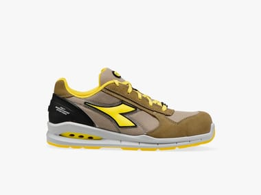 Scarpe antinfortunistiche da lavoro basse RUN NET AIRBOX LOW S1P SRC TOBACCO/MOON ROCK GRAY