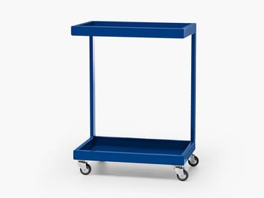 Metal warehouse cart RUN STORAGE TROLLEY