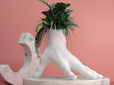 Cast iron planter / sculpture RUN THE SHOW
