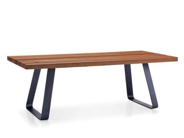 Tavolo da pranzo rettangolare in legno RUNNER | Tavolo da pranzo