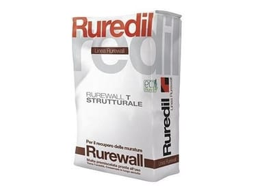 Renovating and de-humidifying additive and plaster RUREWALL® T STRUTTURALE