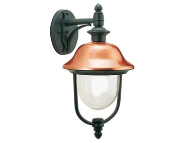 Outdoor wall lamp in aluminum and copper RUSTICA | Outdoor wall Lamp
