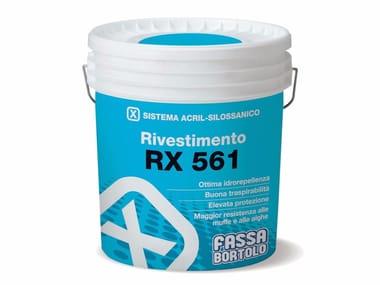 Rivestimento acril-silossanico rustico RX 561