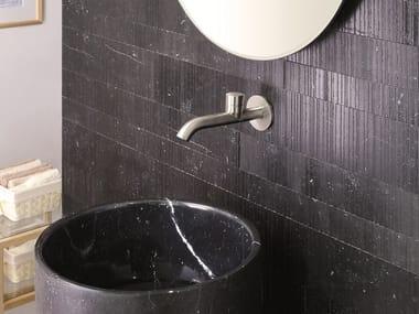Wall-mounted single handle stainless steel washbasin mixer RX | Washbasin mixer