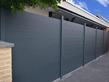 Modular screening aluminium Fence Aluminium Fence