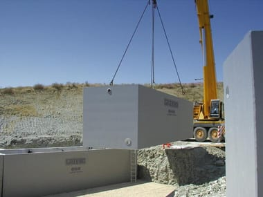 Prefabricated reinforced concrete monolithic tanks Reinforced concrete tanks