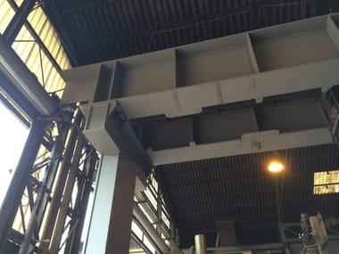Anti-seismic device, insulator, dissipator Rinforzi strutturali