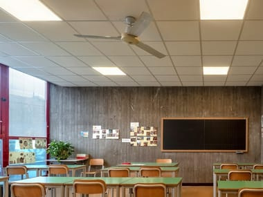 Acoustic fireproof ceiling panels Rockfon® System T24 A