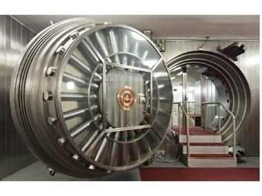 Metal round door Round door