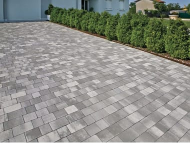 Concrete paving block Rustico
