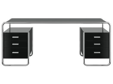 Scrivania rettangolare con cassetti S 285/5