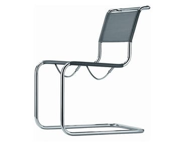 Cantilever mesh chair S 33 N