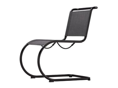 Cadeira cantilever de rede S 533 N Thonet All Seasons