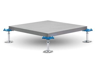 Modular system for raised flooring S-LOCK SYSTEM