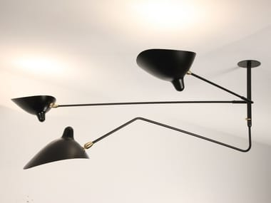 Adjustable metal ceiling lamp S2B1C | Ceiling lamp