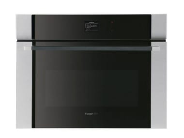 Combi- built-in Glass and Stainless Steel Steam oven S4001 VAPOR COMBI 46