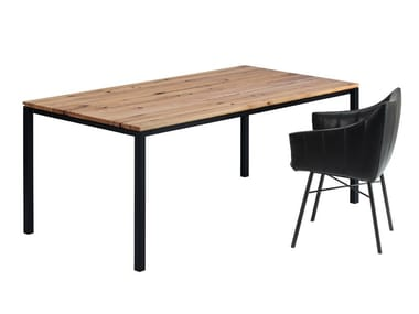 Rectangular wooden table S600 | Wooden table