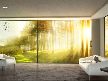 Sliding door with electric motion S650 E-MOTION SYSTEM