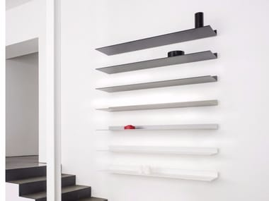 Aluminium wall shelf S7 | Wall shelf