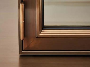 Galvanized steel patio door SA 15 | Porte e Finestre