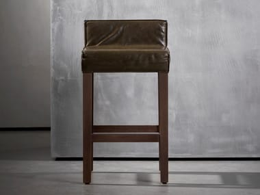 High wooden stool SAAR | Stool