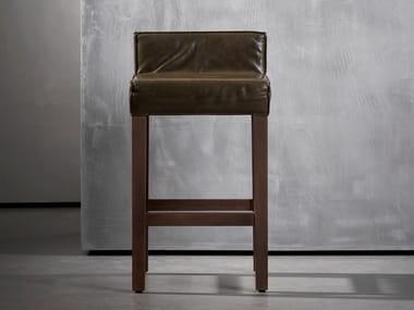 High wooden stool SAAR | Stool