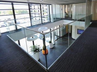 Glass balustrade SABCO | Balustrade