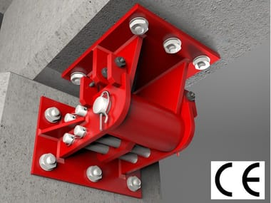 Anti-seismic device, insulator, dissipator SAFE + MODEL A