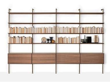 Floor-ceiling mounted bookcase SAILOR