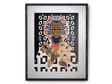 Coated paper Print on paper SAINT NICHOLAS | Print on paper