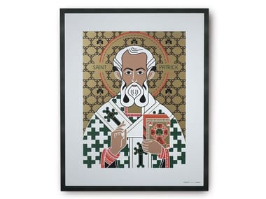 Coated paper Print on paper SAINT PATRICK